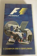 GENUINE AUTHENTIC F1 1996 REVIEW VHS FORMULA ONE OFFICIAL REVIEW VIDEO
