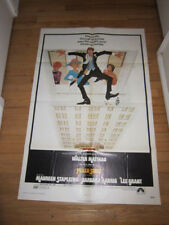 PLAZA SUITE original 1971 poster Walter Matthau