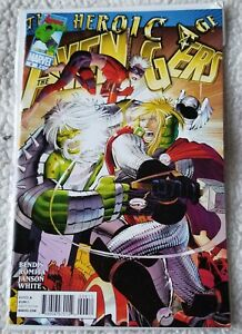 The Avengers Heroic Age #6 Marvel comics VF