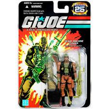 """GI Joe Hasbro 25th Anniversary 3.75"""" Figure MOC Heavy Machine Gunner Roadblock"""