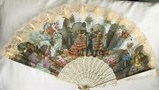 Spanish Flamenco Lace Fan Eventail Large size