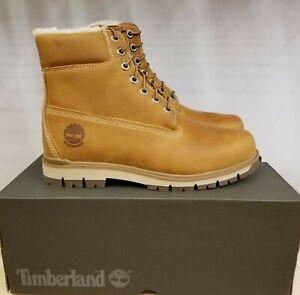 Timberland Radford Wheat Nubuck Waterproof Winter Boots for Men