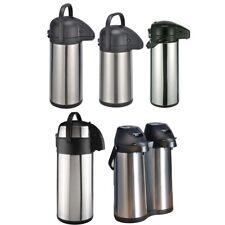 Pumpkanne Thermo Kanne Isolierkanne Airpot Kaffeekanne Isolierflasche Edelstahl