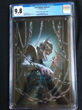 Dark Nights: Metal #5 Bulletproof Comics Virgin Edition CGC 9.8 2138741022