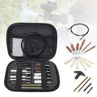 Pistol Gun Cleaning Kit Case 16 Piece Universal for .22 357 .38 Guns