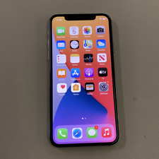 Apple iPhone X - 64GB - Silver (Unlocked) (Read Description) BJ1064