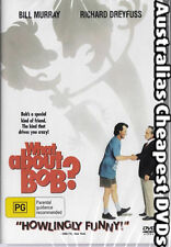 What About Bob?  DVD NEW, FREE POSTAGE WITHIN AUSTRALIA REGION ALL