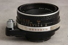 50mm 2.8 Carl Zeiss Jena Tessar for Exakta, Leather Focus?