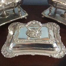 Silver Covered Serving Dish – Folgate Silver Company – 1875-1900 – Hand Chased