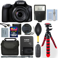 Canon PowerShot SX60 16.1MP Digital Camera + 32GB Deluxe Accessory Package