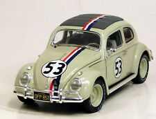 Hot Wheels Elite 1/18 Herbie Monte Carlo Volkswagen Beetle Bug DIECAST BLY22