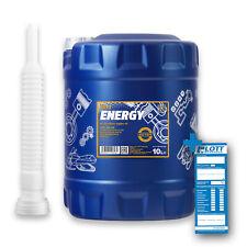 10L Mannol Energy 5W-30 Motoröl VW 502.00 505.00 MB 229.3 ACEA A3 B3 + Schlauch