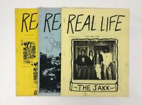 Lot of 1980s Punk Pop Art Zines REAL LIFE in a Big City Los Angeles Fanzine