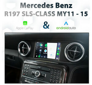 Mercedes Benz R197 SLS-Class 2011-15 Touch Apple CarPlay & Android Auto