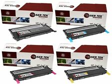 4PK CLT-409S Replacement Toner Cartridges for the Samsung  CLP-310 CLP-315