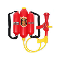 Fireman Toy Water Guns Sprayer Backpack for Children Toy Party Favors Gift