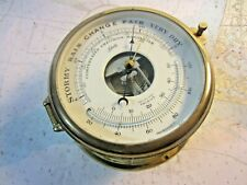 "Schatz 6"" Compensated Precision Barometer, Beautiful Condition!"