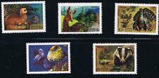 WILD ANIMALS =DEER, TURKEY,... full set of 5 = Russia 1975 #4361-65 MNH  [q11]