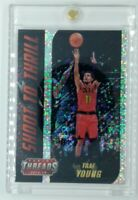 2018-19 Panini Threads Shoot to Thrill Dazzle Trae Young Rookie RC #4, Hawks