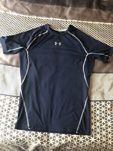 Under Armour Mens Compression Short Sleeved Top Large