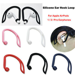 For AirPods 1 2 Pro Earphone Silicone Ear Hook Loop Sports Anti-Lost Hook 2PCS