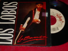 Los Lobos La Bamba NM/Come On Let's Go NM 1987 RE Rock 45 & PS