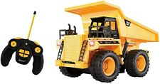 Top Race® 5 Channel Fully Functional Rc Dump Truck, Battery Powered Remote Cont