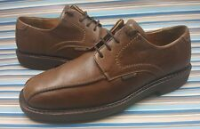 Mephisto Air Relax Casual Oxford 100% Caoutchouc Brown Leather Lace Men Shoes 8