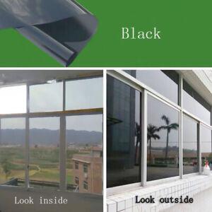 Reflective Window Mirror One Way Film Glass Privacy Solar Tint Self Adhesive DIY