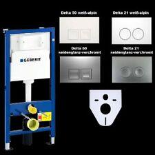 Geberit Duofix Basic WC-Vorwandelement UP100 inkl. Schallschutz u. Platte Delta
