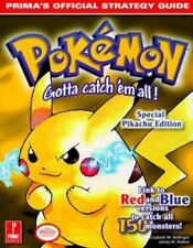 Pokemon Yellow - Special Pikachu Edition - Prima's Official Strategy Guide GREAT