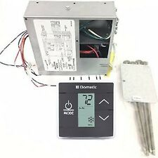 Dometic 3316232.010 LCD Touch Thermostat Cool Furnace Heat Strip with Control Ki