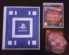 Wonderbook + Book of Spells - PS3 - J.K Rowling Harry Potter Pottermore Hogwarts