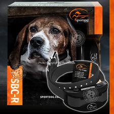 SportDOG SBC-R NoBark Grey Dog Collar Rechargeable w/ Probes & Charging Cradle