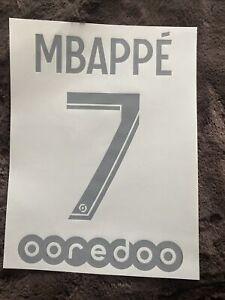 Flocage Officiel Psg Jordan 2020/2021 Third Ligue 1 Mbappé Adulte