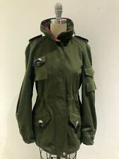 Authentic NEW COACH Womens Green Cotton Jacket Size 2