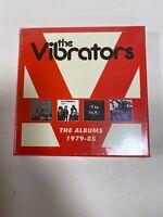 THE VIBRATORS - The Albums 1979-1985 4 x CD Set 2018 Captain Oi BRAND NEW! 4CD