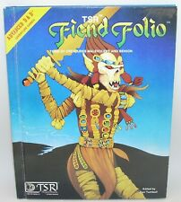 Advanced Dungeons and Dragons FIEND FOLIO Hardcover TSR Game Wizards 1981 D&D
