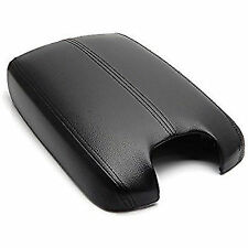 Synthetic Leather Black Center Console Lid Armrest Cover Fits 08-12 Honda Accord