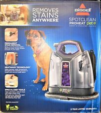 Bissell 2513W Spot Clean ProHeat Portable Pet Stain Carpet Upholstery Cleaner