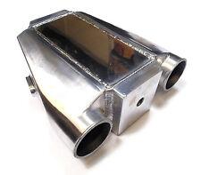 """Enfriador de Aire de agua líquida Intercooler carga de entrada/salida de 3"""" con accesorios de agua"""