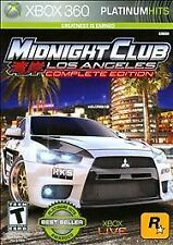 Midnight Club Los Angeles Complete Edition XBOX 360 NEW! CARS, RACING FUN, RACE