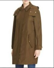Burberry Brit Hartlington olive Trench Coat 4 us 38 eu with inner warmer