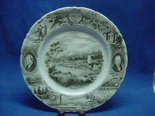 """""""THE OREGON PLATE"""" BY JOHNSON BROTHERS FOR MEIER & FRANK CO."""
