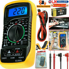 Digital LCD Multimeter Voltmeter Ammeter AC DC Ohmmeter Current Circuit Tester