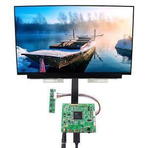 """15.6"""" 3840x2160 NV156QUM-N32 eDP IPS LCD 2HDMI DP USB LCD Controller Board"""