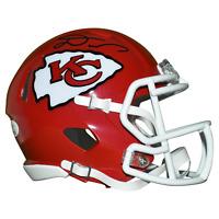 Damien Williams Signed Kansas City Chiefs Mini Speed Football Helmet (JSA)
