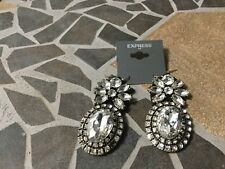 Rhinestone Earrings by Express. NWT