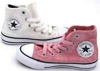 CONVERSE ALL STAR JUNIOR BAMBINA SCARPA SNEAKER ART. CTAS HI 661036C - 661035C