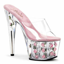 Medium (B, M) Width Stilettos Floral Heels for Women